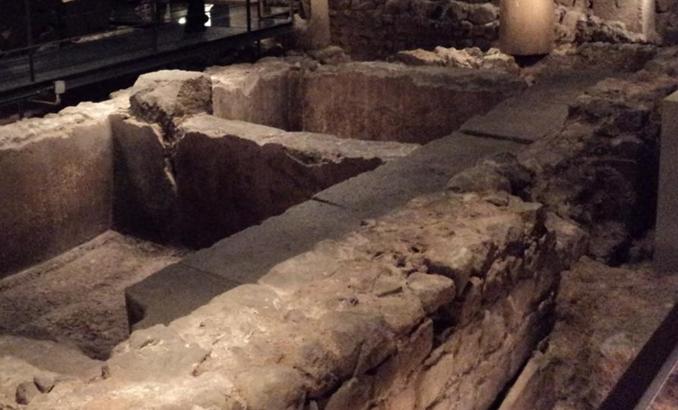 Roman Ruins of Barcino the original Barcelona