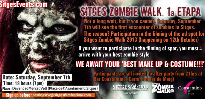 Zombie Walk Advert Video