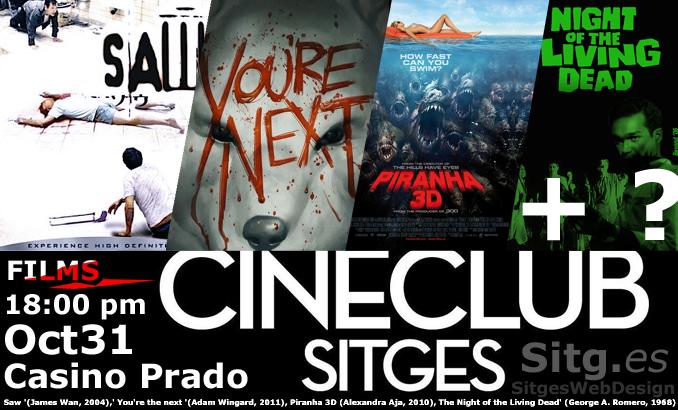Cinema Club Horror Marathon Sitges