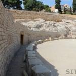 Roman Amphitheatre in Tarragona, Catalonia, Spain
