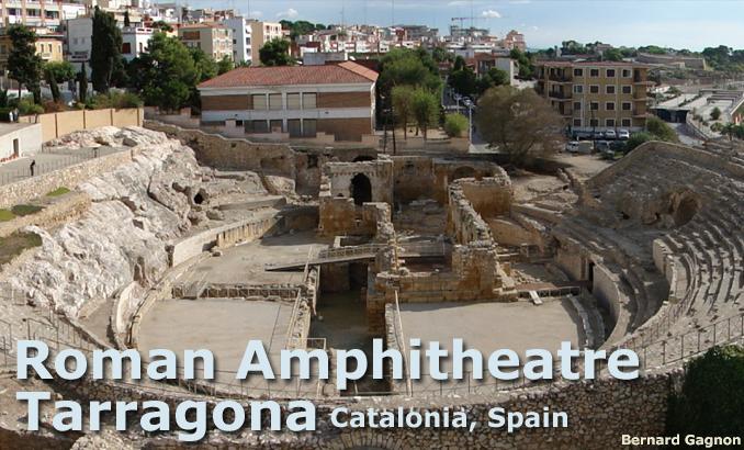 Roman amphitheatre of Tarragona, Catalonia, Spain