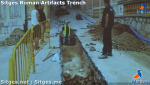 Sitges-Roman-Artifacts-Trenches
