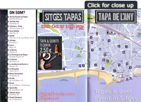 Melia Tapas Sitges Event La Tapa de l'Any de Catalunya 2013