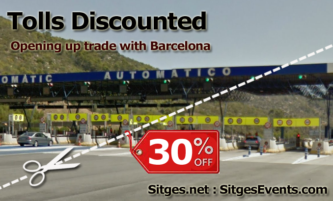 Tolls Discounted Sitges Barcelona