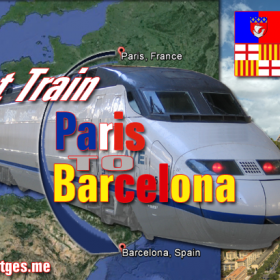 Fast Trains Paris to Barcelona From December