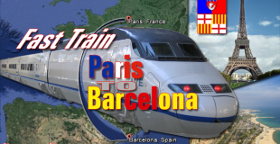Direct Fast Trains Paris to Barcelona 6h 25 min From December