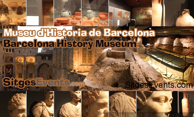 Roman Ruins of Barcino the original Barcelona: