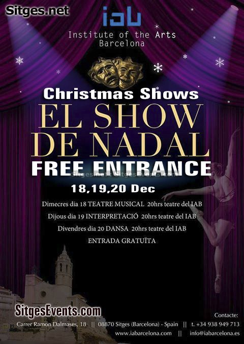 Institute of the Arts Barcelona's Musical Theatre Christmas Show