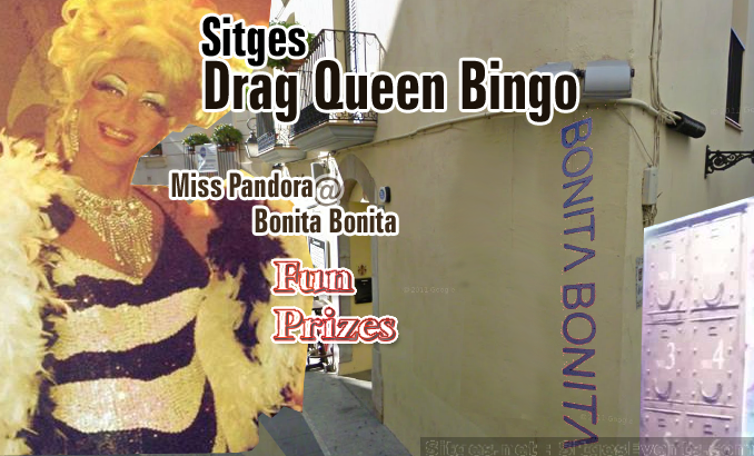 Drag Queen Bingo brings Winter action to Sitges