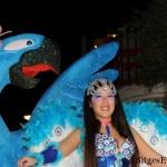 Sitges Carnival Carnaval Parade near Barcelona