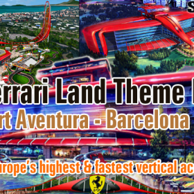 Port Aventura Ferrari Land Venue near Barcelona