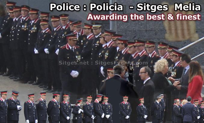 Police Policia Awards Melia Sitges