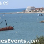 Sitges Beach Barcelona Catalunya Catalonia Spain