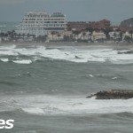 Sitges on a rare Rainy Day