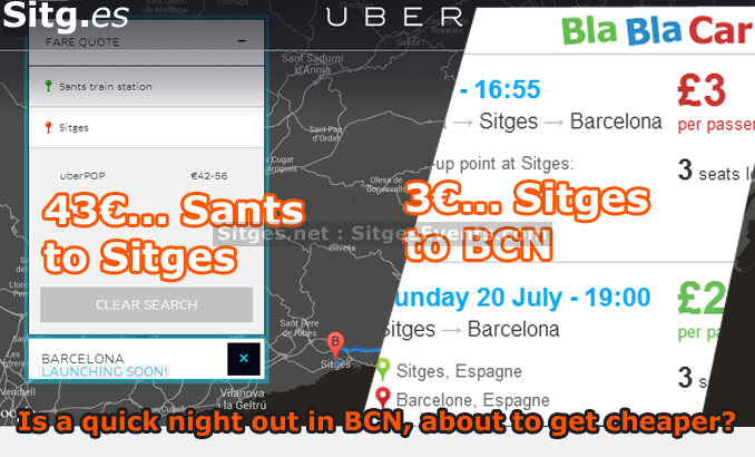 ,shuttle,Barcelona Airport,Uber Barcelona,Sants to Sitges,Spanish Taxi Confederation,Uber,,Bla Bla Car,Barcelona to London, Barcelona to Alicante,Cabify,Sants train station to Sitges,