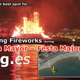 Sitges Fireworks,Sitges Fiesta Mayor,Sitges Festa Major