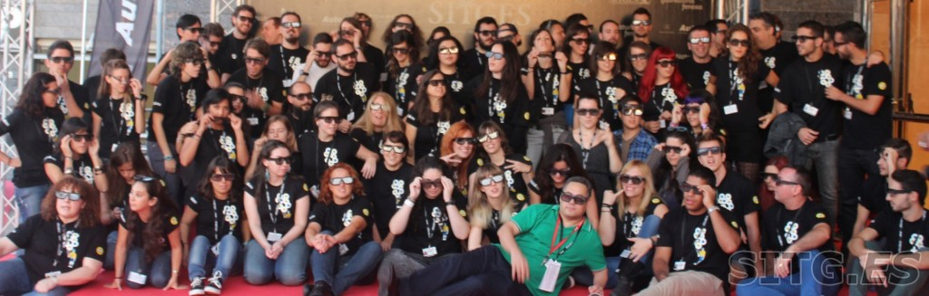 sitges film festival staff volunteers