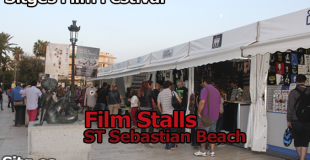 Stalls at Sitges Film Festival