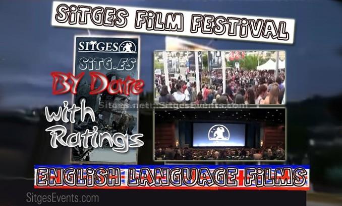 Sitges International Film Festival 2014 English Language Films