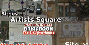 Artists Square Sitges Placa dels Artistes