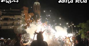 Sitges Santa Tecla