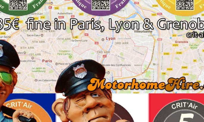 French Cities – Banned Cars & Sticker to Avoid Fines