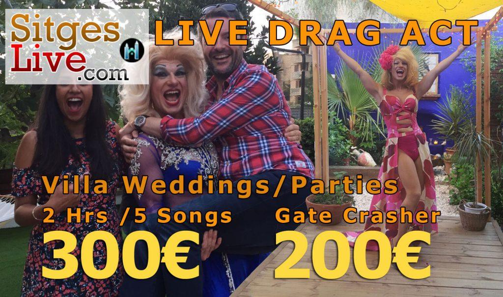 sitges drag act live show