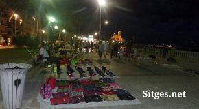 Sitges irregular street sales